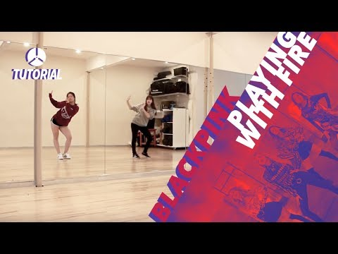[TUTORIAL] BLACKPINK - PLAYING WITH FIRE (불장난)   Dance Tutorial by 2KSQUAD