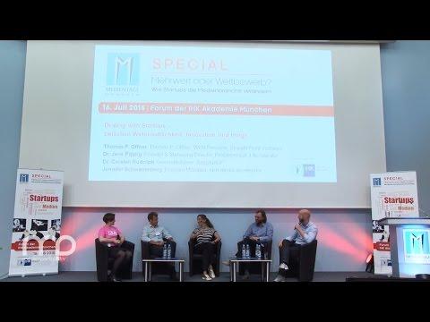 Diskussion: Dealing with Startups – Wirtschaftlichkeit, Innovation, Image