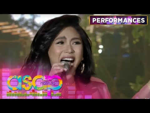 Popstar Royalty Sarah G performs her own rendition of
