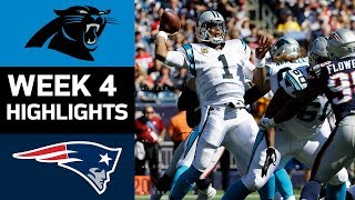 Panthers vs. Patriots | NFL Week 4 Game Highlights