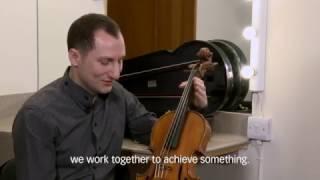 Antoine Tamestit's beautiful Stradivarius viola