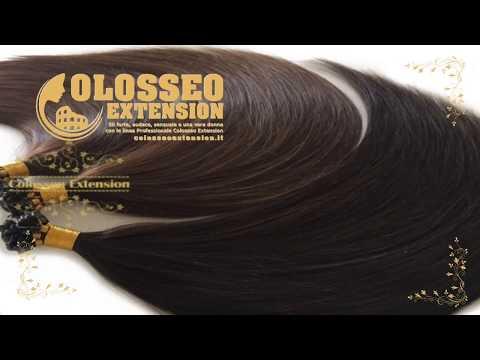 Sconto del 20% per tutto il mese di agosto Cheratina 55 cm 1 grammo a ciocca vip hair extension capelli naturali colosseo extension it 002