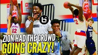 WHY JUMP?! Zion Williamson DESTROYS EVERY DUNK in Rivalry Game!
