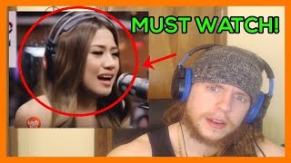 IS SHE EVEN GOOD? Singer Reacts to Morissette Amon RISE UP