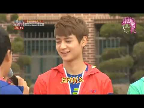 130512 DT 2 Ep 184 with SHINee - Key's exaggerated dance