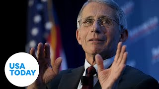 Dr. Anthony Fauci speaks at public forum at Harvard University with Dr. Sanjay Gupta | USA TODAY