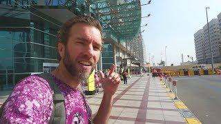 Getting Lost in Abu Dhabi, United Arab Emirates