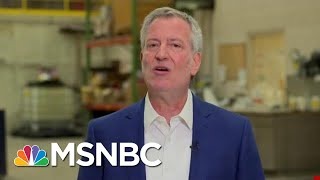 Mayor Bill de Blasio: President Donald Trump Has Conned Everyone | Morning Joe | MSNBC