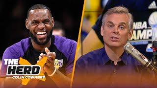 Colin Cowherd 3-Word Game for the 2018-19 NBA Season | NBA | THE HERD