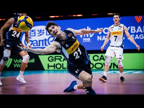 INSANE Saves 🔥 of the Men's VNL of 2021! | Volleyball World