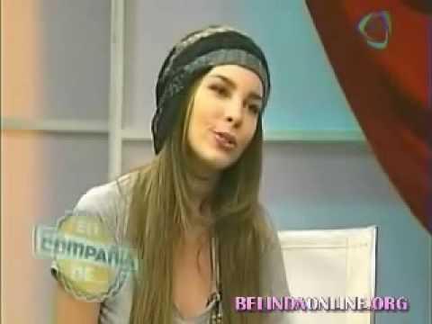Belinda  Cantando Titanic Acapella