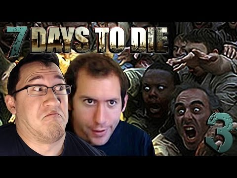 MARK AND WADE   7 Days To Die #3 - Smashpipe Games