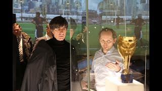 Joachim Löw visits the FIFA World Football Museum