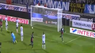 أهداف مباراة مرسيليا 1-2 باريس سان جيرمان // الدوري الفرنسي // حفيظ دراجي // 06-10-2013