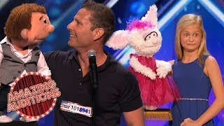 PUPPET MASTER! - The BEST Ventriloquists On Got Talent Around The World!