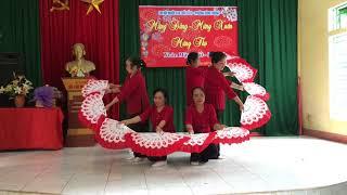 Huyền thoại mẹ (múa quạt)-Tổ 10 Hùng Vương-Phúc Yên#Xuân 2018