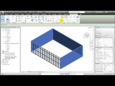 Revit Architecture - Using Preliminary Cost Estimates to Inform Design