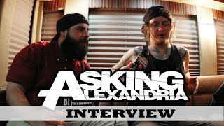 Asking Alexandria Interview Ben Bruce Warped Tour 2015
