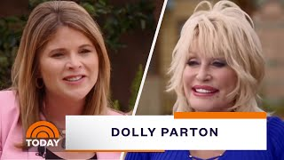Dolly Parton Takes Jenna Bush Hager Inside Dollywood's New Wildwood Grove | TODAY