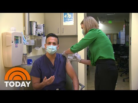 Dr. Vin Gupta Gets COVID-19 Vaccine On-Air: 'This Is Going To Save Lives' | TODAY