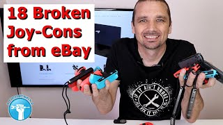 I Spent $275 on Broken Joy-Cons - Can I Fix Them for Profit?