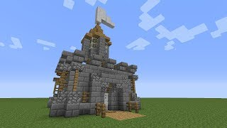 Minecraft: How To Build A Mini Castle