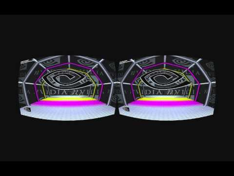 NVIDIA 3D stereoscopic test application 720p60 framesequential realtime rifted for Oculus Rift