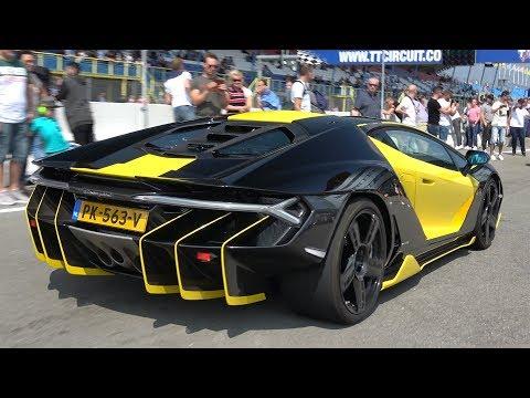 2 5 Million Lamborghini Centenario Exhaust Sounds Gumball 3000