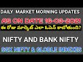 daily stock market morning updates|as on 16-03-2021|nifty|bank nifty|sgx nifty updates