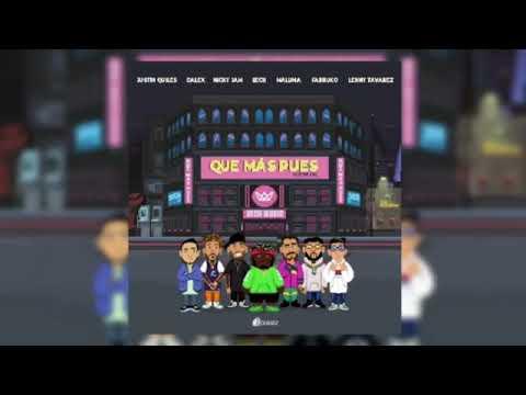 Que Mas Pues - (OFICIAL REMIX) J Quiles Nicky Jam Sech  Maluma  Farruko  Lenny Tavarez  Dalex