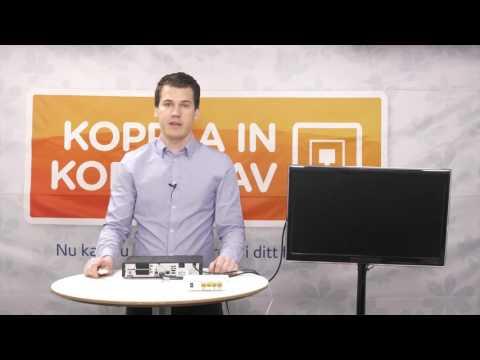 Instruktionsfilm Viasat Fiber-TV