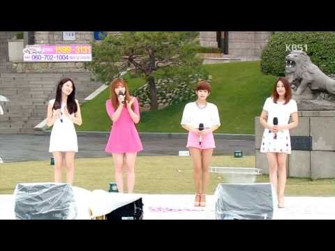 [130423] Sunny Hill  (써니힐) - Pit a Pat / Thump Thump (두근두근) @ KBS Happiness Republic of Korea