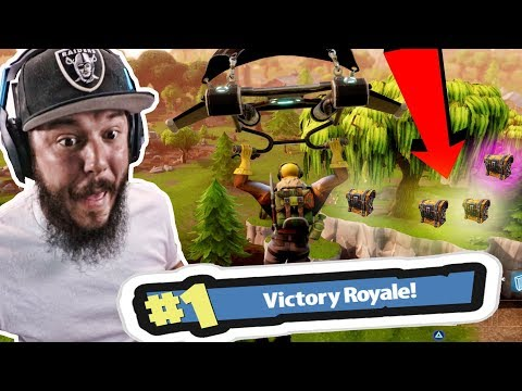 THE WORST FORTNITE PLAYER EVER!! SO MANY CHESTS  - FORTNITE BATTLE ROYALE
