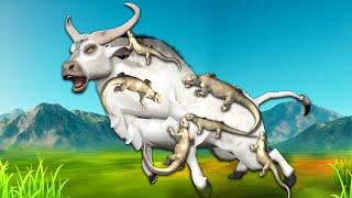 सफेद भैंस और छिपकली White Buffalo and Lizard Hindi Kahaniya Panchatantra Moral Stories Fairy Tales