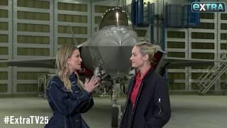 Brie Larson Talks Struggles of Shooting 'Captain Marvel'