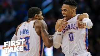 Russell Westbrook, not Paul George, is the key to OKC's success – Max Kellerman | First Take