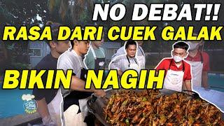 The Onsu Masak - Pedasnya CUEK GALAK yang sangar dan no debat, BIKIN NAFSU!!!