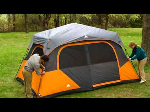 Ozark Trail Tent 13 X 9 Instant Tent Youtube