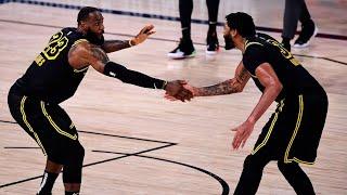 LeBron James & Anthony Davis 2020 Western Conference Playoff Highlights