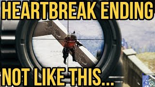 A PAINFUL ENDING // PUBG Xbox One Gameplay