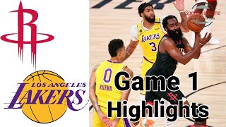 Rockets vs Lakers HIGHLIGHTS Full Game | NBA Playoff Game 1
