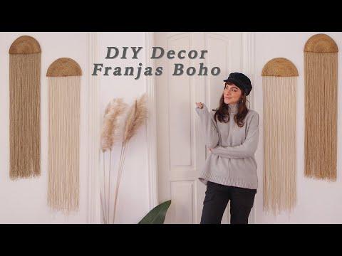 DIY Decor Franjas Boho – Decorando o Quarto 03