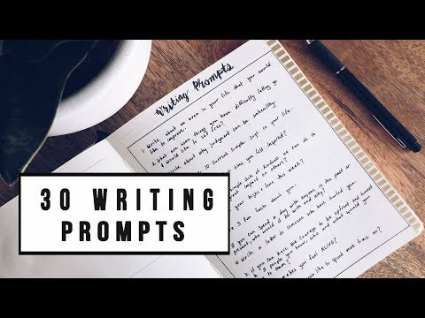 30 JOURNALING WRITING PROMPTS + IDEAS  | ANN LE