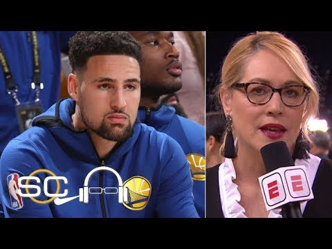 It was 'killing' Klay Thompson to sit out Game 3 - Doris Burke | SC with SVP