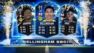 BELLINGHAM, ZAGADOU & GRAY SBC'S! - FIFA 21 Ultimate Team