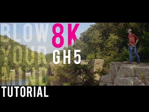 8K SHORT FILM the GH5 (anamorphic) made for YouTube with tutorial (premiere pro) - does size matter?