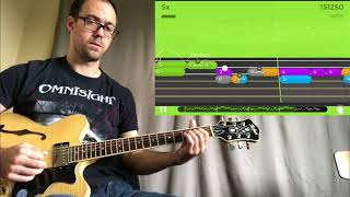 """Yousician - """"Waltzing Matilda"""" - Double-Stops Playthrough"""