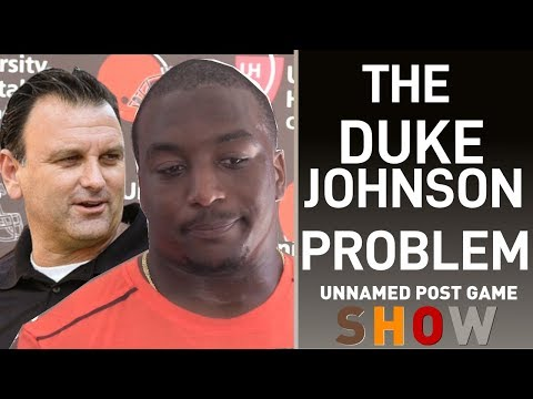 WHY THE BROWNS HAVEN'T TRADED DUKE JOHNSON YET