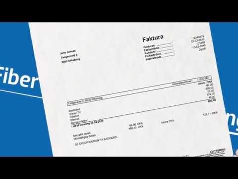 Forstå din fiber-faktura - Boligforening