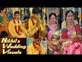 Nikhil Siddharth Pallavi Marriage Exclusive Wedding Visuals With Near and Dear People   IG Telugu